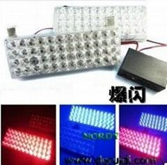 6W led strobe light auto warning light flashlight bar
