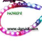 3MM-24CM IP68 RGB decorative light led flexible strip light
