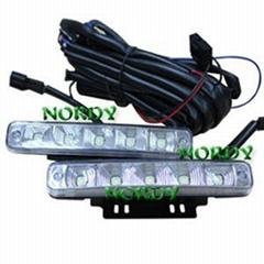 5W DC12V led daytime running lamp led running light auto bulbs