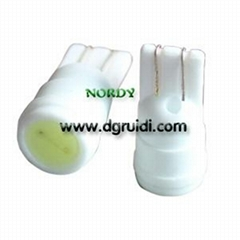 1W  80Lm T10 led ceramics signal light WG green BA9S light led