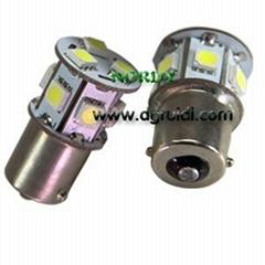 Led Turn Lamp 1156 9SMD5050 led turn lighting 1.5W 7440/7441 12V/24V tuck bulb