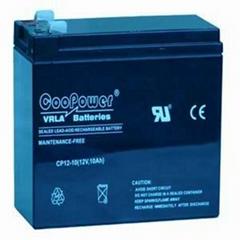 emergency lighting  battery 12v10ah