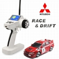 Brand New 1/28 drift rc car model with