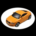 1/28 Audi TT 4WD Drift rc car model with 2.4G transmitter 3