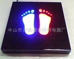 LED地砖灯,双脚丫,单脚丫,户外室内装饰,节能环保安全