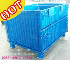Stillages, Collapsible Box Pallet ,Container Cage ,Steel Basket