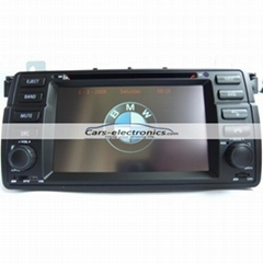 Double DIN BMW E46 DVD Player with GPS Navigation for BMW 3 Series E46
