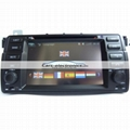Double DIN BMW E46 DVD Player with GPS Navigation for BMW 3 Series E46 4
