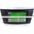 2 Din Benz W211 DVD Player - E Class Benz W211 GPS Navigation Radio Bluetooth 2