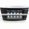 2 Din Benz W211 DVD Player - E Class Benz W211 GPS Navigation Radio Bluetooth 3