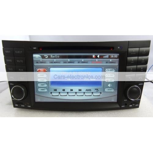 2 Din Benz W211 DVD Player - E Class Benz W211 GPS Navigation Radio Bluetooth 4