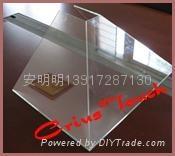 全息透明玻璃無縫拼接金字塔