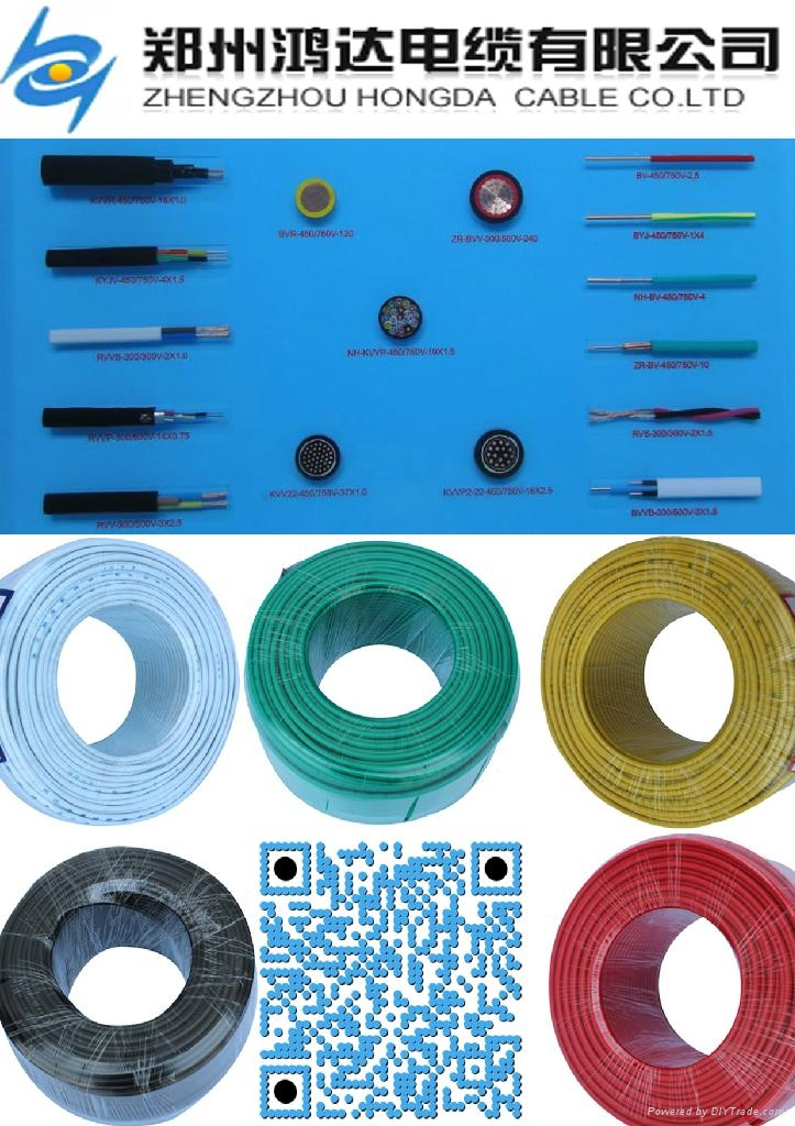 PVC insulated copper wire TW THW building cable - Hongda (China ...