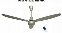 12V solar ceiling fan