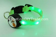 customized new design led collar for your lovely pet