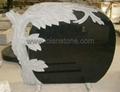Shanxi Black headstone 8 1