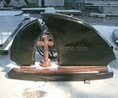 Black headstone 2