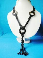 時尚米珠純手工項鏈飾品