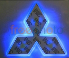 led car emblem light