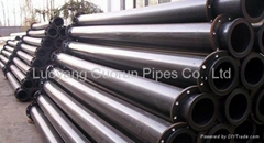 UHMWPE composit pipe for mining