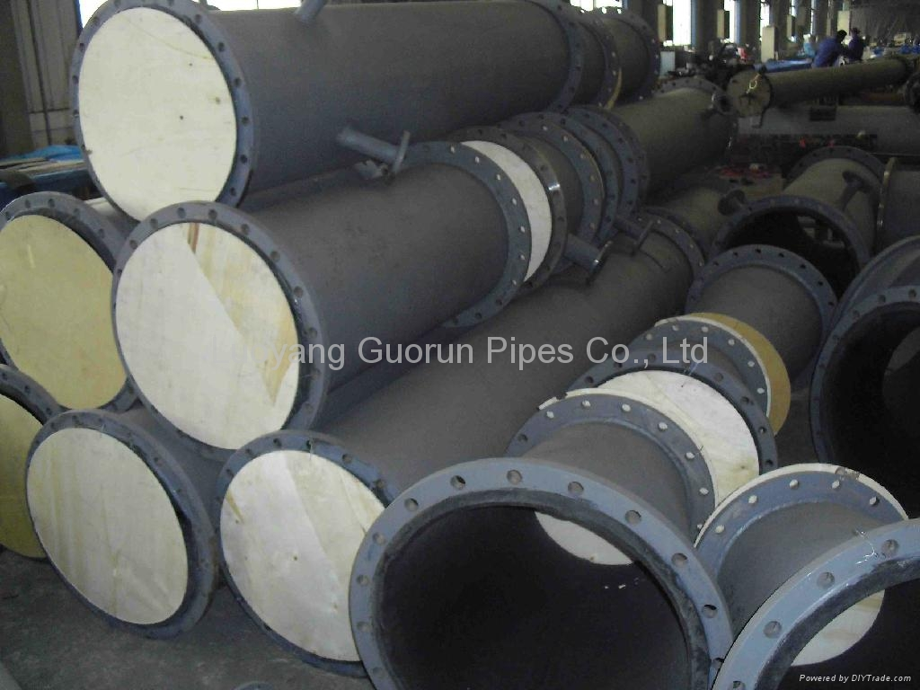 UHMWPE composit pipe for mining 3