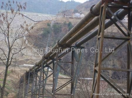 UHMWPE composit pipe for mining 5