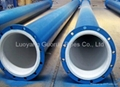 plastic lined steel pipe to carry