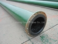 rubber line pipe used to transport