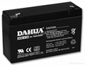 Sealed lead acid battery 6V10AH