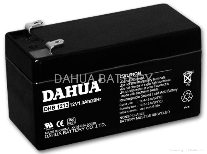 Sealed lead acid battery 12V1.3AH 1
