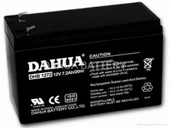 On sale: 12V7.2AH/20hr  Rechargeable sealed lead-acid/VRLA battery