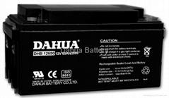 12V65AH,  AGM  battery