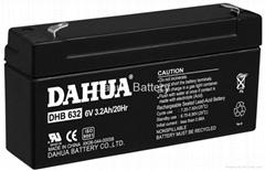 VRLA battery  6V3.2Ah