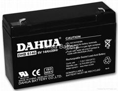 VRLA battery 6V14Ah
