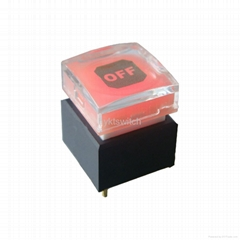 调音台按钮 透光按钮 行程大有响声 可做自锁