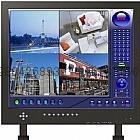 内置DVR监视器4路(15、19寸)