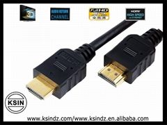 3d hdmi 1.4 2m 24k gold plated high speed and high quality.