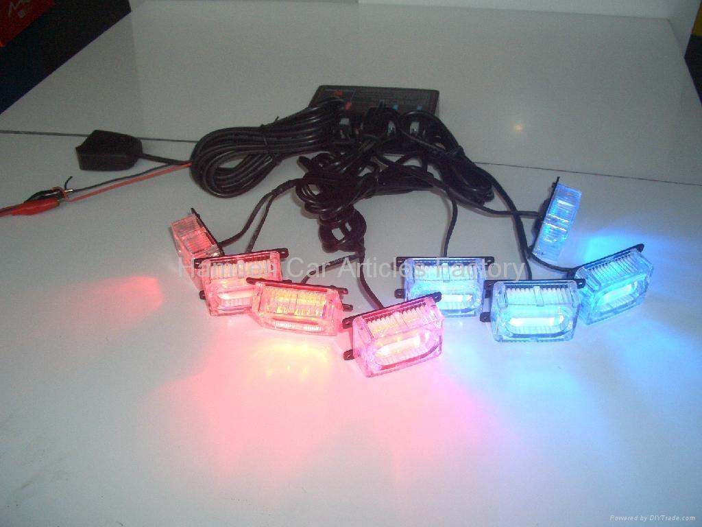 Grille flash warning LED light 1