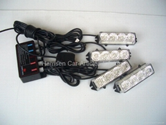 Grille flash warning LED light