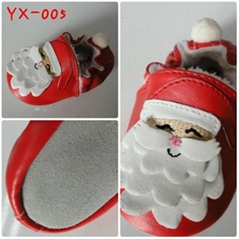 Santa Baby Geniue Leather Shoe