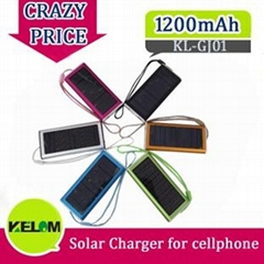 1200mAh New Solar Universal Batteries Charger for Mobile Phone Iphone Ipad PSP e