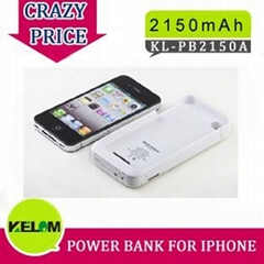 2150mAh New Design Universal Portable Power For Iphone, Itouch Ipod