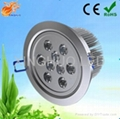 9 High Power LED Recessed Downlight