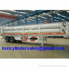 8 tube CNG trailer