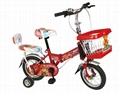 "new folding bicycles for children 12"" trainning wheels"