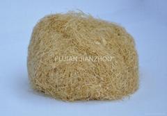 Semi-fine bamboo fiber