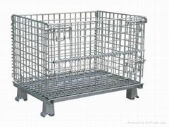 金属折叠笼