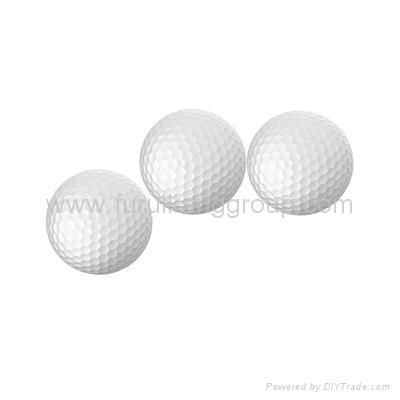 Three-piece tournament golf ball  1