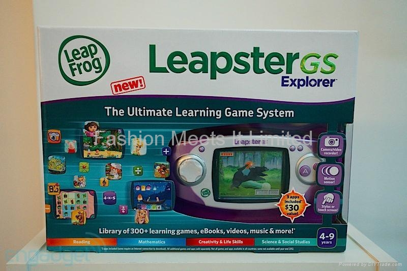 LeapFrog Leapster GS Leapster GS Explorer Ultimate Learning Game S
