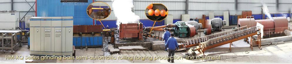 HM-XQ Series grinding balls semi-automatic 2